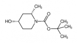 tert-butyl (2S,4S)-4-hydroxy-2-methylpiperidine-1-carboxylate