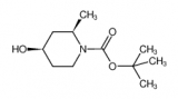 tert-butyl (2R,4R)-4-hydroxy-2-methylpiperidine-1-carboxylate